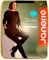 Колготы Elvira Microfibra 100Den красные размер 2