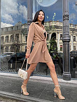 Женский стильный костюм юбка и рубашка, фото 1