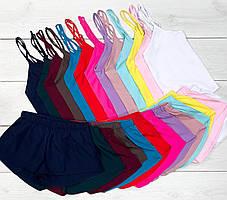 Комплект летних пижам Майка+шорты.