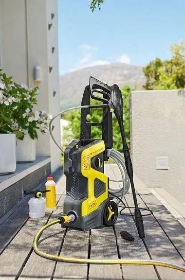 Мийка високого тиску Parkside PHD 135A1( Німеччина)+засіб для видалення стійкий забруднень