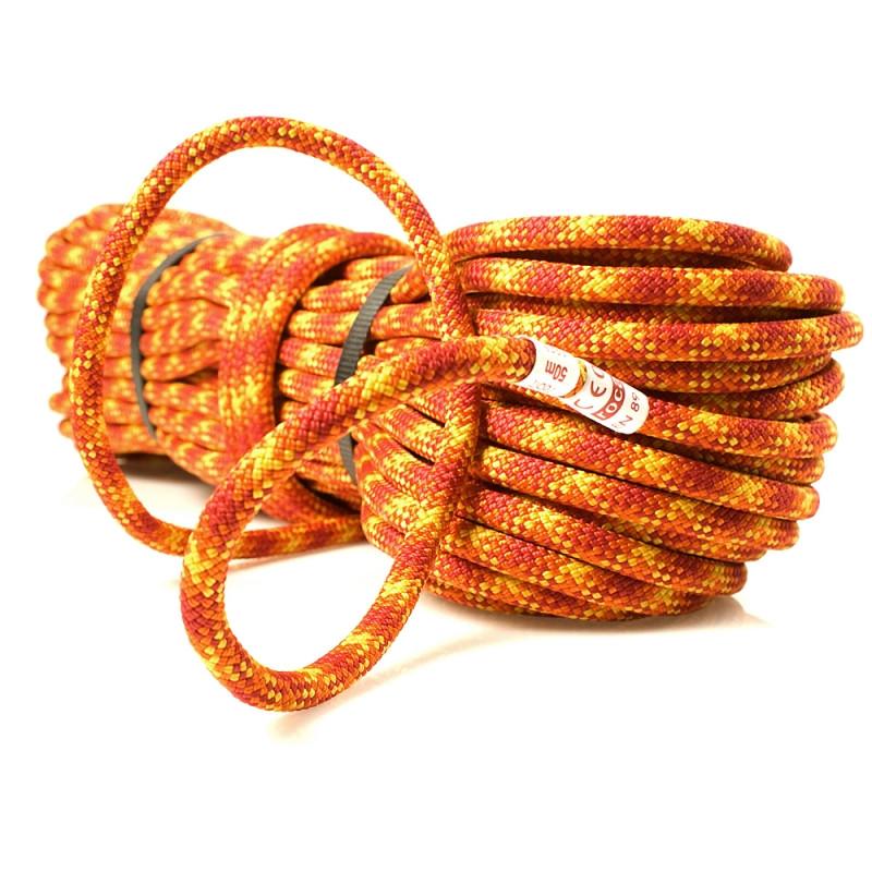 Динамическая веревка Roca Trek 7,8mm 20m - Full Dry Orange - Интернет-магазин Джиг-Джиг в Киеве