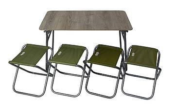 Комплект мебели складной Novator SET-6 (100х60)