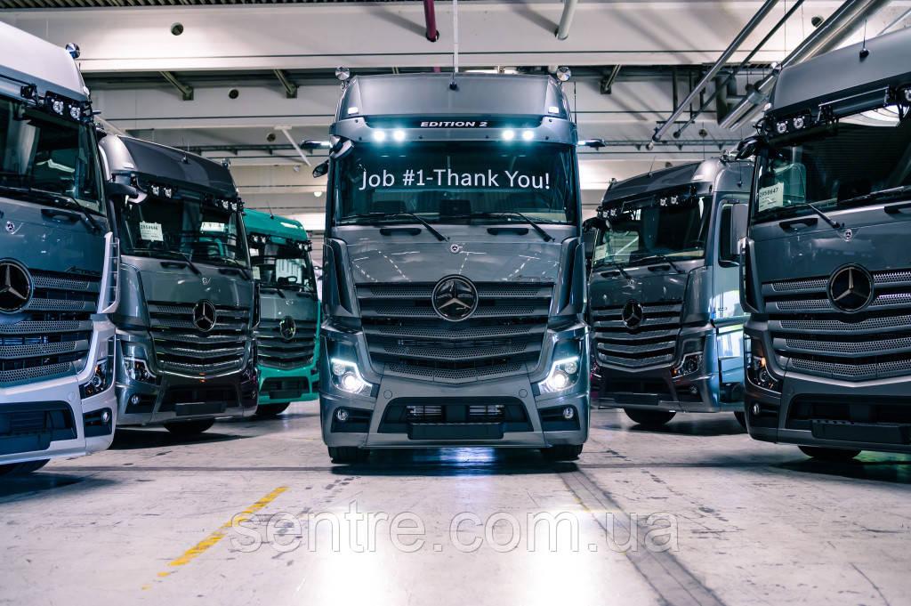 Mercedes-Benz выпустил первый эксклюзивный тягач Actros Edition 2