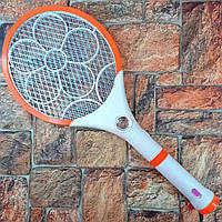 Ракетка мухобойка электрическая Уничтожитель насекомых и комаров Mosquito Exterminator Racket 2в1 Живые фото