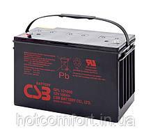 Акумуляторна батарея CSB GPL121000, 12V 100Ah (343х168х215 (220)