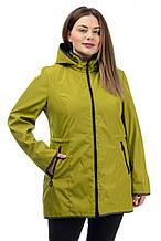 Жіноча легка куртка CR-60R77 в розмірах 52-62