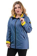 Жіноча легка куртка CR-600T60 в розмірах 46-56