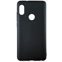 Накладка MiaMI Soft-touch Xiaomi Redmi Note 5 Pro Black