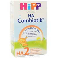 Детская сухая гипоалергенная молочная смесь Хипп