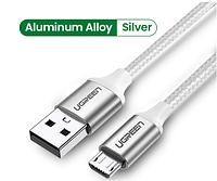 Кабель Ugreen Micro USB 2.0 1M White (US290)