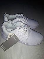 Белые кроссовки  сильные  для девочки р36 george, стелька 22,5 см