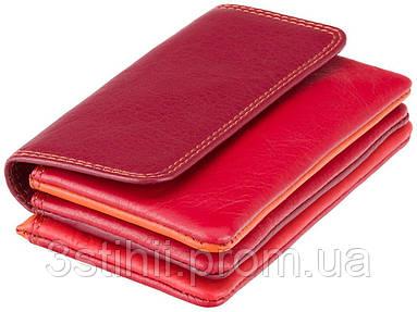 Ключница Visconti RB99 Tahiti (Red Multi) кожаная Красная