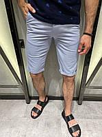 Мужские хлопковые шорты светло фиолетового цвета (фиолетовые) Турция