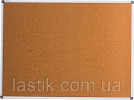 $Доска пробковая 90х120 см алюминиевая рамка