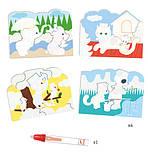 Художественный комплект для рисования водой Djeco Что вокруг? (DJ09065), фото 2