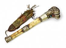 Ганлин ритуальная тибетская флейта