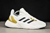 Мужские кроссовки Adidas X9000L4 White/Black (бело-черные) T9380
