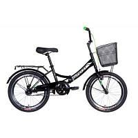 "Детский велосипед 20"" Formula Smart  багажник + корзина"