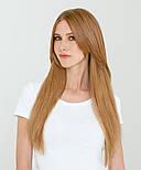 Волосся на трессе 50 см. Колір #27 Золотий Блонд, фото 2