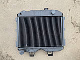 Радиатор охлаждения 3-х рядный (медный) УАЗ 452.469 (пр-во Иран), фото 2