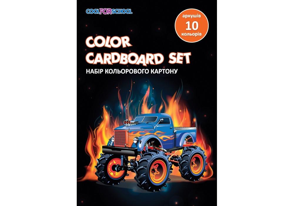 """Набор цветного картона А5, 10 л., """"CFS"""" CF21002-03"""