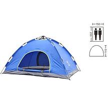 Двухместная туристическая палатка автоматическая Самораскладывающаяся кемпинговая палатка для отдыха и природы, фото 2