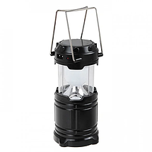 Фонарь для кемпинга светодиодный G85 с солнечной панелью Туристическая лампа для пикника Светильник в палатку, фото 2