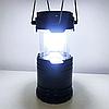 Фонарь для кемпинга светодиодный G85 с солнечной панелью Туристическая лампа для пикника Светильник в палатку, фото 4