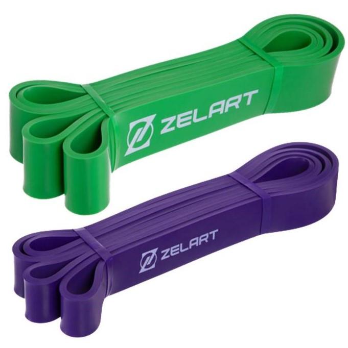 Набір еспандер-силові петлі Zelart Power Bands для підтягування, турніка і тренувань (FI-2606)