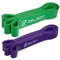 Набір еспандер-силові петлі Zelart Power Bands для підтягування, турніка і тренувань (FI-2606), фото 1