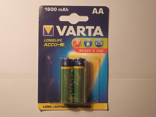 Аккумулятор Varta АА 1600mAh Ready 2Use ( 2шт. )