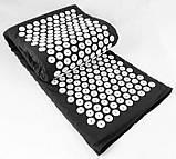 Масажний акупунктурний килимок з подушкою   Масажер для спини і ніг OSPORT   Аплікатор Кузнєцова, фото 4