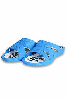 Шлепки женские голубые Dreamstan 131522S