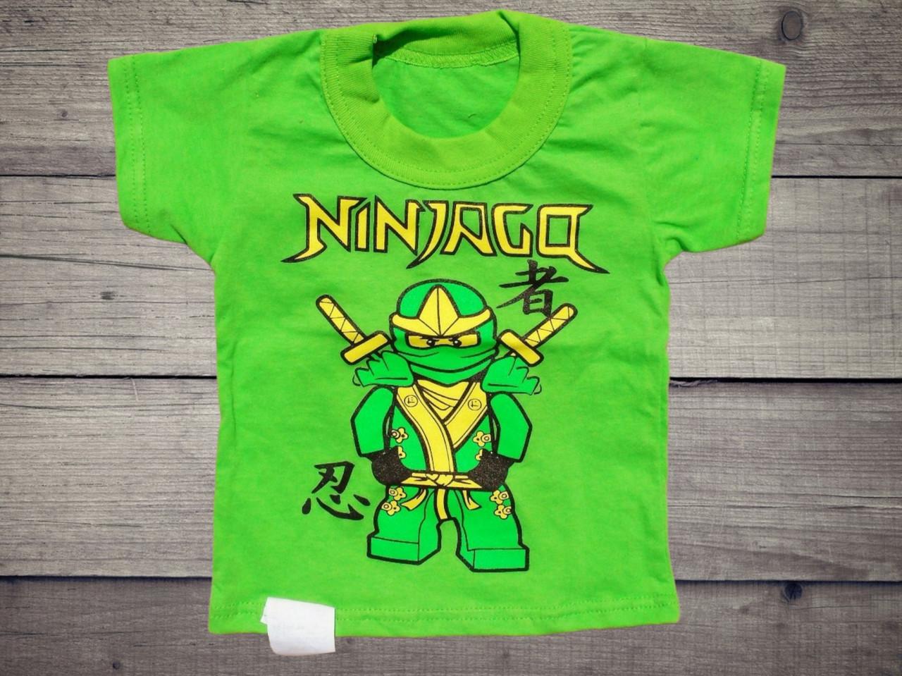 Дитяча футболка на хлопчика Ниндзяго