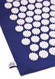 Масажний акупунктурний килимок з подушкою | Масажер для спини і ніг OSPORT | Аплікатор Кузнєцова, фото 9