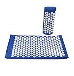 Масажний акупунктурний килимок з подушкою | Масажер для спини і ніг OSPORT | Аплікатор Кузнєцова, фото 3