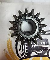Шестерня конічна мала (мале зубчасте колесо) Z-16 на косарку польську Wirax Z-069