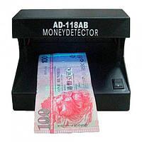 Ультрафиолетовый детектор валют настольный Money Detector AD-118-AB Черный