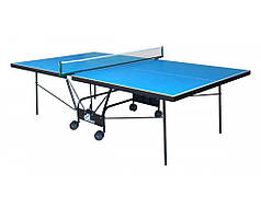 Вуличний тенісний стіл GSI-sport Compact Outdoor Alu Line всепогодний для вулиць