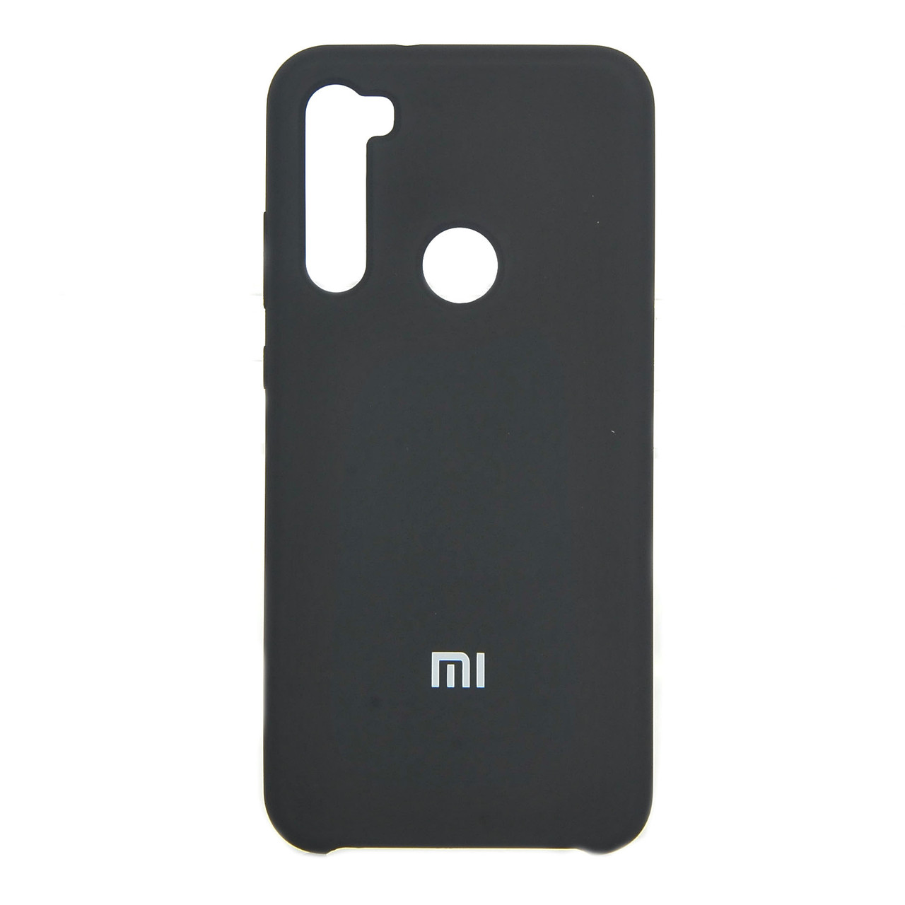Накладка Silicone Case High Copy Xiaomi Redmi Note 8T Black