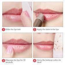 Отшелушивающий бальзам для губ Daralis Shea Butter Lip Scrub, 3,5г, фото 3