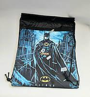 Сумка для обуви сменка с карманом batman