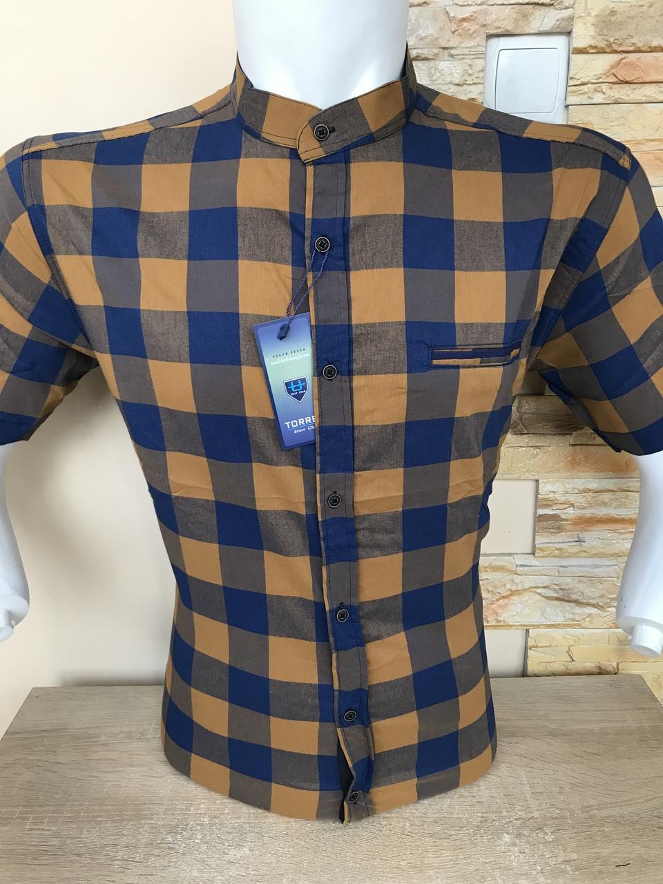Батальна сорочка/ стійка в клітинку Torres