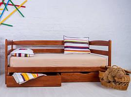 Ліжко односпальне Олімп Маріо з ящиками