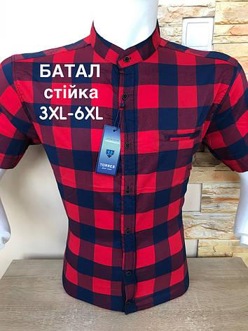 Батальна сорочка/ стійка в клітинку Torres, фото 2