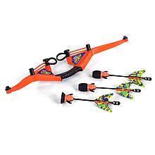 Лук со стрелами Power Grip, оранжевый