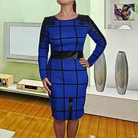 Нарядное платье с перфорацией Синтия 42-48р
