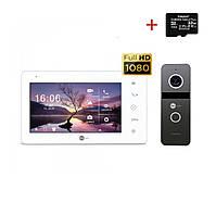 Комплект відеодомофона Neolight NeoKIT HD+ Graphite