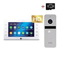 Комплект відеодомофона Neolight KAPPA+ HD / Solo FHD Silver