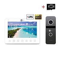 Комплект відеодомофона Neolight OMEGA+ HD / Solo FHD Graphite